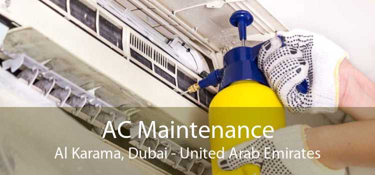 AC Maintenance Al Karama, Dubai - United Arab Emirates