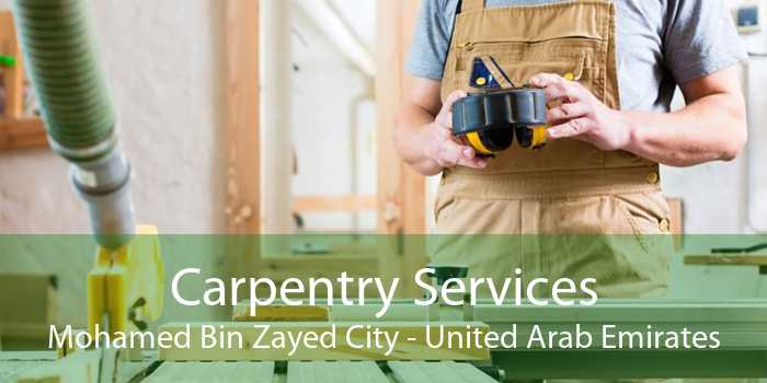 Carpentry Services Mohamed Bin Zayed City - United Arab Emirates