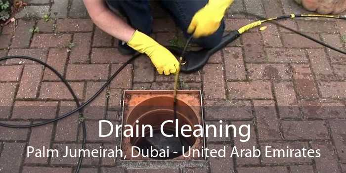 Drain Cleaning Palm Jumeirah, Dubai - United Arab Emirates