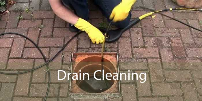 Drain Cleaning  -