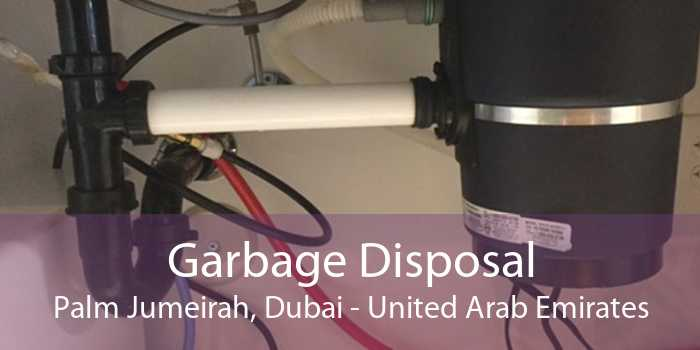 Garbage Disposal Palm Jumeirah, Dubai - United Arab Emirates