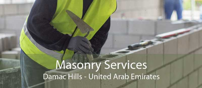 Masonry Services Damac Hills - United Arab Emirates