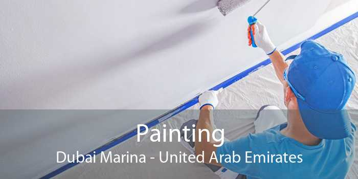 Painting Dubai Marina - United Arab Emirates