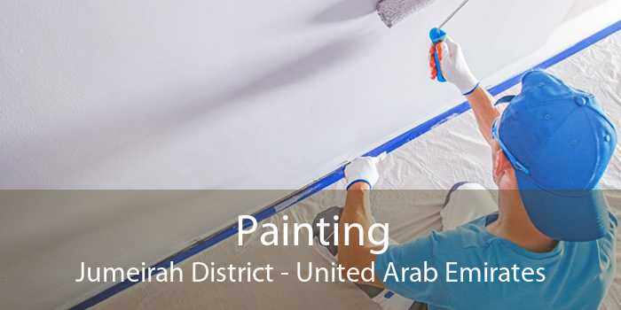 Painting Jumeirah District - United Arab Emirates